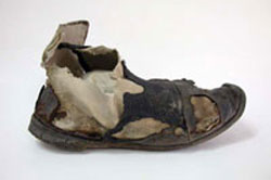 Women's boot found at Hyde Park Barracks