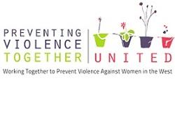 Preventing violence together united Logos