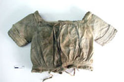 Shirt found at Hyde Park Barracks, artefact number UF930