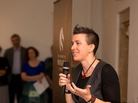 Karina Quinn, Newcastle Poetry Prize 2013, image credit Peter Bower