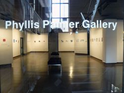 The front door of the Phyllis Palmer Gallery