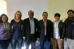 left to right students; RAMNIK KAUR, Jana, Ishaq, Madzlan, Phong (Daniel), Lukman