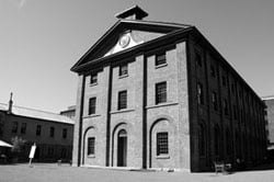 Exterior of Hyde Park Barracks