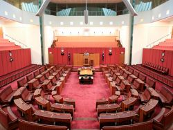 The Australian Senate - photo courtesy of Alex E Promois