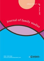 Journal of Family Studies cover