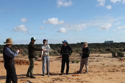 arid zone soil samples