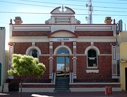 Mildura's historic William and George Chaffey Building