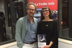 Maria Elander book launch
