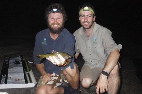 Paul McInerney and Michael Shackleton