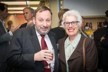 Professor John Rosenberg- Senior Deputy Vice-Chancellor and Beverley Rosenberg