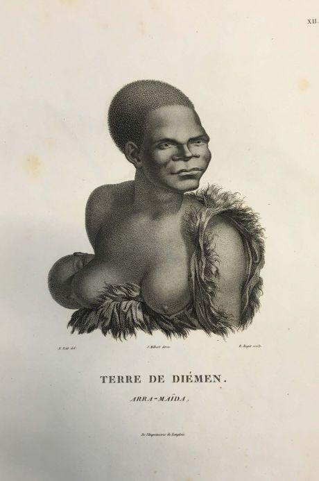 Stipple engraving, Arra-Maïda Terres De Diémen c.1811