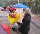 """""""Quack, quack, quack""""…. engaging children in play."""