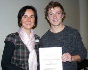 2012 - Alexandra Gartmann and Mitch Rounce - FRRR Scholarship