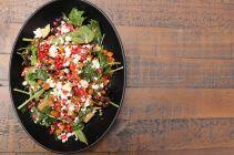Chickpea and Pomegranate Salad (GF)