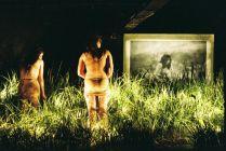 Filmer 3: Katrina Gill and Clare Britton in Politely Savage. Photographer: Heidrun Löhr.