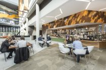 Bread & Butta Café, Foyer, AgriBio Building