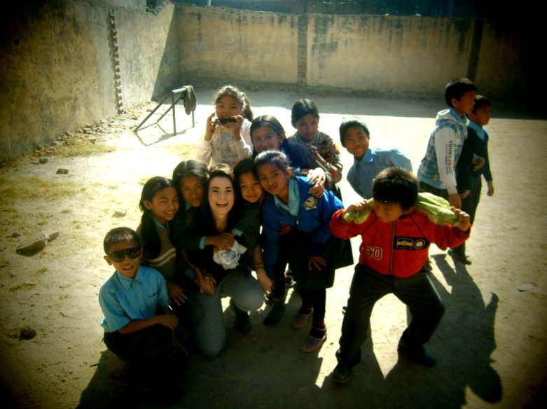 Our students volunteering in Nepal