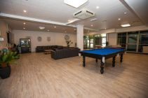 Common room for socialising and entertainment.