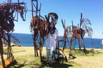 Visiting Sculptures by the Sea, annual event at Bondi Beach