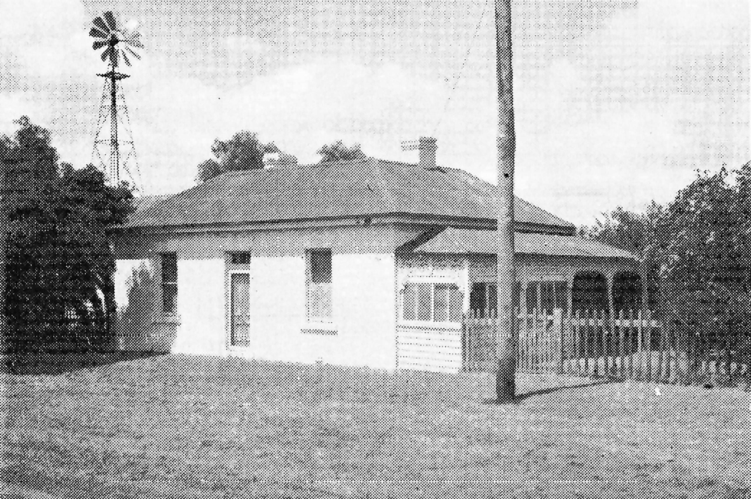 "The Read, Violet Vines Marshman's family home ""Berringa"" at Branxholme  (mid-19th century)"