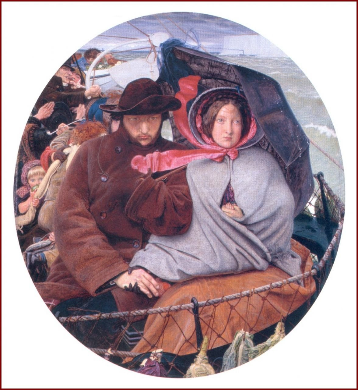 Ford Madox Brown - The last of England (1855)
