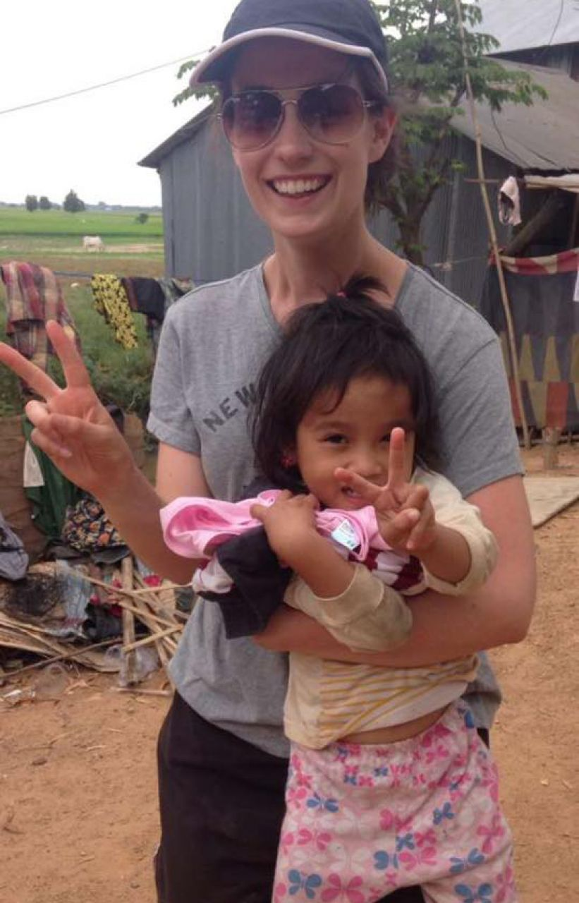 Our students volunteering in Cambodia