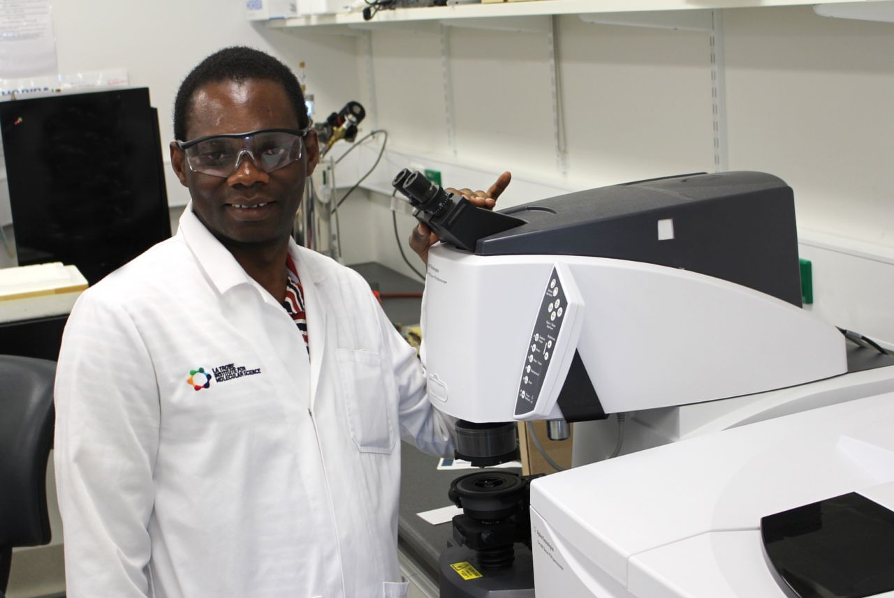 """I come from Tanzania, a country that is heavily dependent on agriculture. My PhD examines membranes made from cashew nut shell compounds, that can extract toxic herbicides from water. The membranes are eco-friendly, versatile and cost-effective compared to traditional technologies. Hopefully, my research will help address some of the environmental problems facing my home country, many of which result from agricultural development."" – Alinanuswe Joel Mwakalesi"