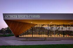 La Trobe Sports Stadium Twilight
