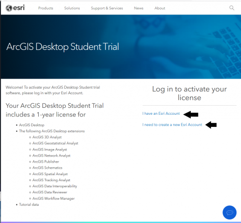 arcgis esri education