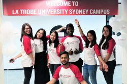 Welcome from La Trobe students